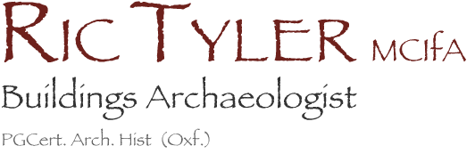 Ric Tyler – Buildings Archaeologist