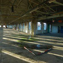 Industrial interior, Sunbeamland factory, Blakenhall, Wolverhampton