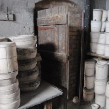 Mould store, MIddleport Pottery, Burslem, Stoke-on-Trent