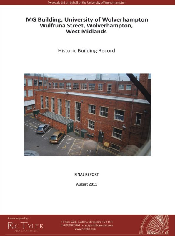 MG Building, University of Wolverhampton