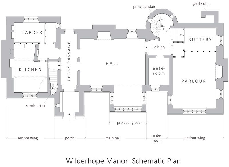 Wilderhope Manor, Rushbury, Shropshire